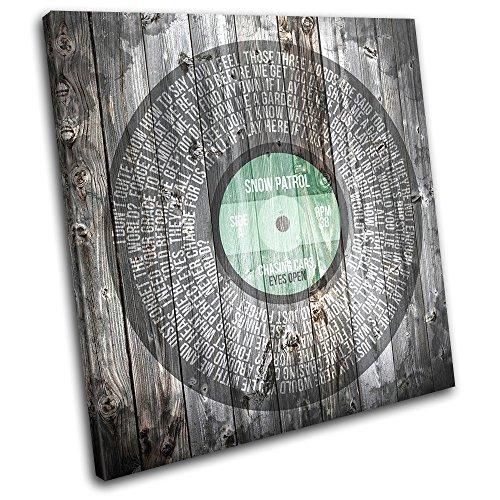 Single Spiral Canvas Art Print Box Framed Wall Hanging