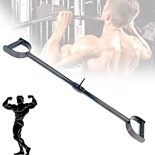 Multi-Exerciser Cable Attachment Bar, Plating Triceps Press Down Pulldown Bar, Easy To Grip & Non Slip Ultimate Cable Atta...