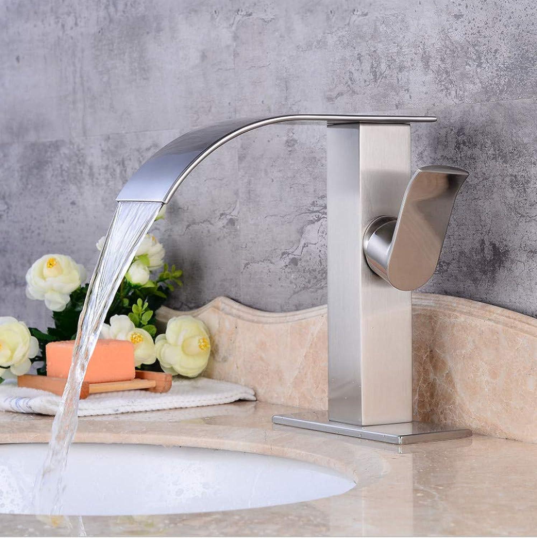 Faucet European Basin Faucet Retro Brushed hot and Cold Faucet Bathroom Copper Faucet wash Basin Faucet