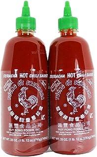Huy Fong, Sriracha Hot Chili Sauce 28 oz (2 Pack)
