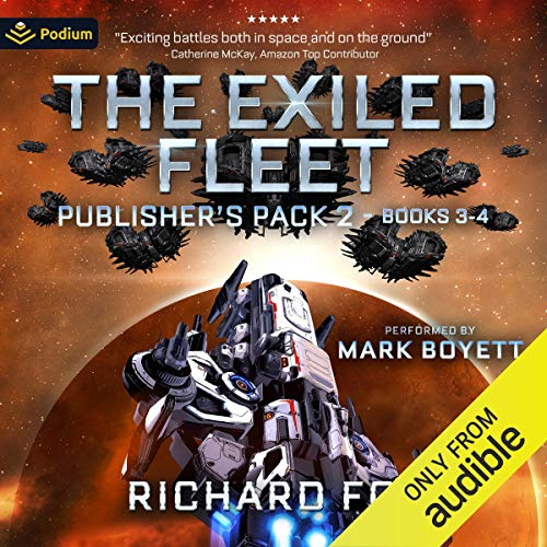 Exiled Fleet: Publisher's Pack 2 audiobook cover art