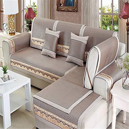 Funda de sofá reversible para muebles, impermeable, antideslizante, para niños, perros, funda para asiento de amor, funda para muebles (12,60 x 150 cm)