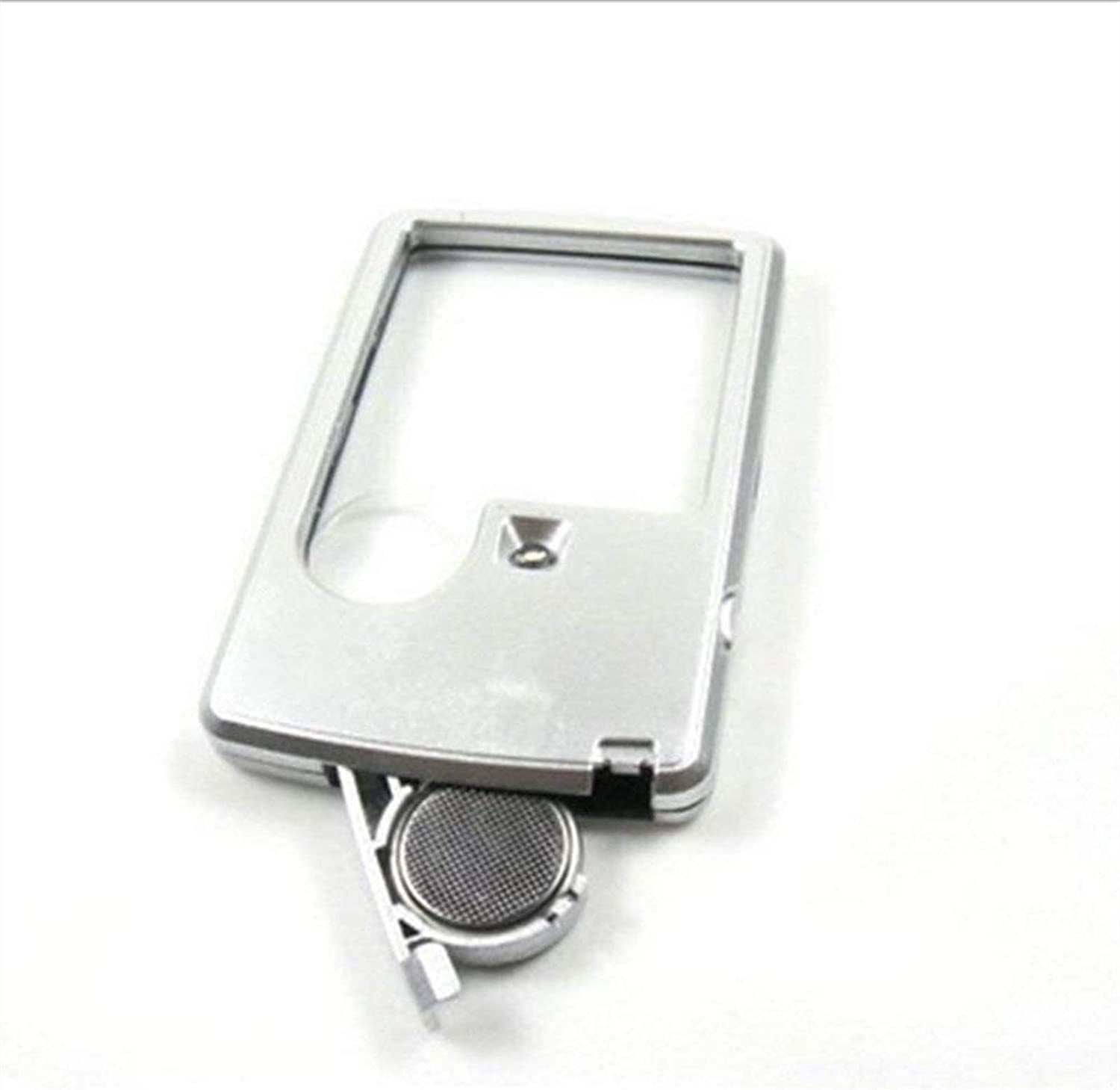CMMWA Portable Reading Magnifier Department store Ranking TOP6 3 6x Glass Porta Square Lens HD