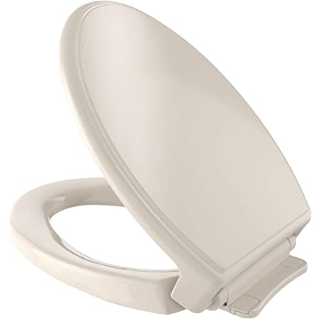 TOTO SS154#12 Elongated SoftClose Toilet Seat Sedona Beige New