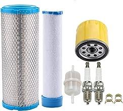 Leopop 25 083 01-S 25 083 04-S Air Filter for Kawasaki 11013-7020 11013-7019 Kohler CH18 - CH26 CH730 - CH750 CV16 - CV26 CV745 Engine Lawn Mower w Oil Filter Tune Up Kit