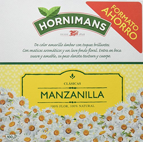 Hornimans Manzanilla - 100 filtros - [Pack de 2]