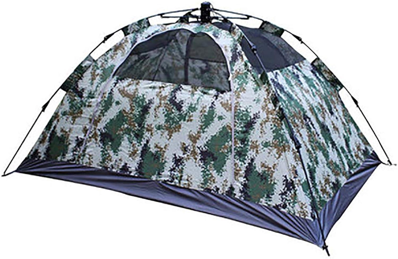 Pop Up Zelt Für Camping,2 Personen Outdoor Outdoor Outdoor Automatische Set Instant Zelt FamilieTarnung Zelt B07PXG42BM  König der Quantität 0fe420