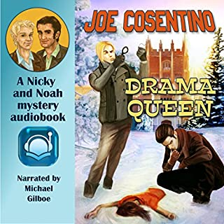 Drama Queen audiobook cover art