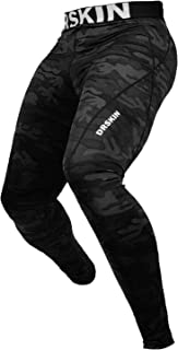 DRSKIN 1, 2 or 3 Pack Men's Compression Pants Dry Sports...