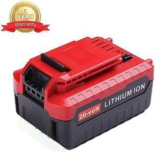 20V Max 4.0Ah PCC685L Lithium Ion Battery Replace for Porter Cable 20 Volt PCC680L PCC682L PCCK602L2 PCC600 PCC640 Cordless Power Tools