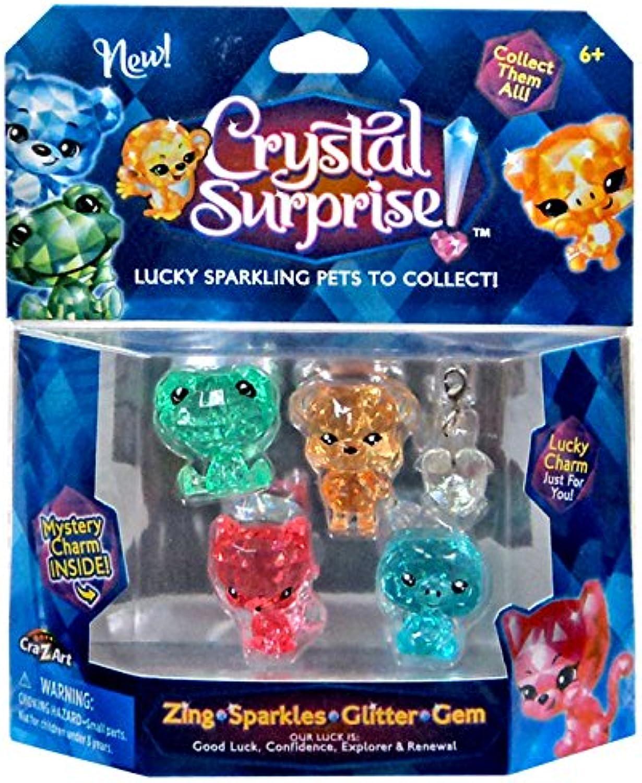 Crystal Surprise  Zing, Sparkles, Glitter & Gem Lucky Pets Figure [Random colors ] by Crystal Surprise