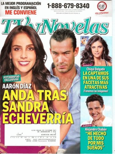 TVyNovelas 2012 Marzo - Alejandro Chaban 4 pages + Poster