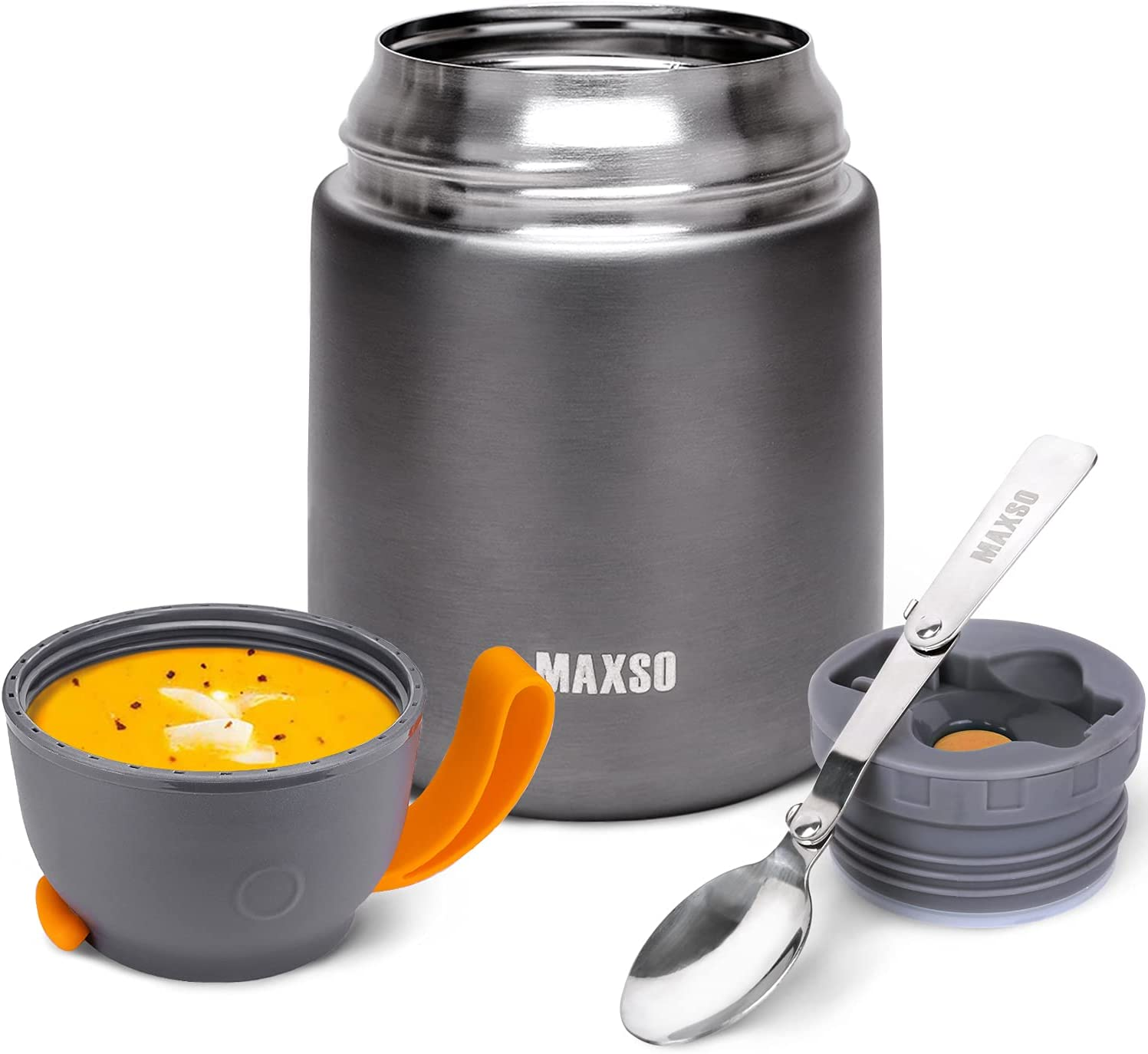 Insulated Lunch Max 66% OFF Container Hot Food Jar Stainless Import Steel 17 Vac Oz