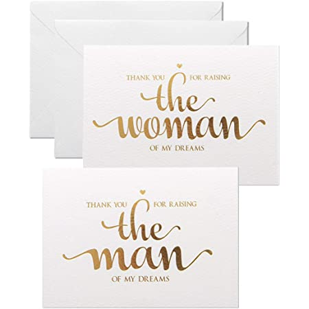 Gold Foiled To My Mom On My Wedding Day Wedding Day Card  Wedding Cards  Wedding Day  Bride /& Groom  I Said Yes