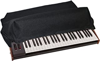 DAVE SMITH INSTRUMENTS OB-6 / PROPHET 6 Dust Cover and Synthesizer Keyboard Protector [Antistatic, Water Resistant, Heavy Duty Premium Fabric, Black] by DigitalDeckCovers