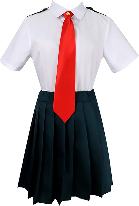 My Boku no Hero Academia School Uniform Cosplay Costume Izuku Shoto Asui Ochako