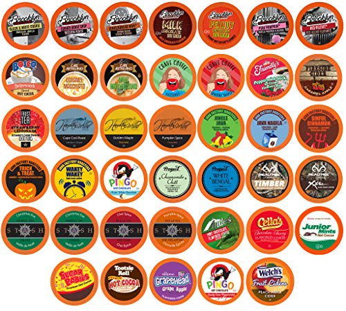 Two Rivers Holiday Flavors Variety Pack, Compatible with 2.0 Keurig K-Cup Brewers, 40 Count