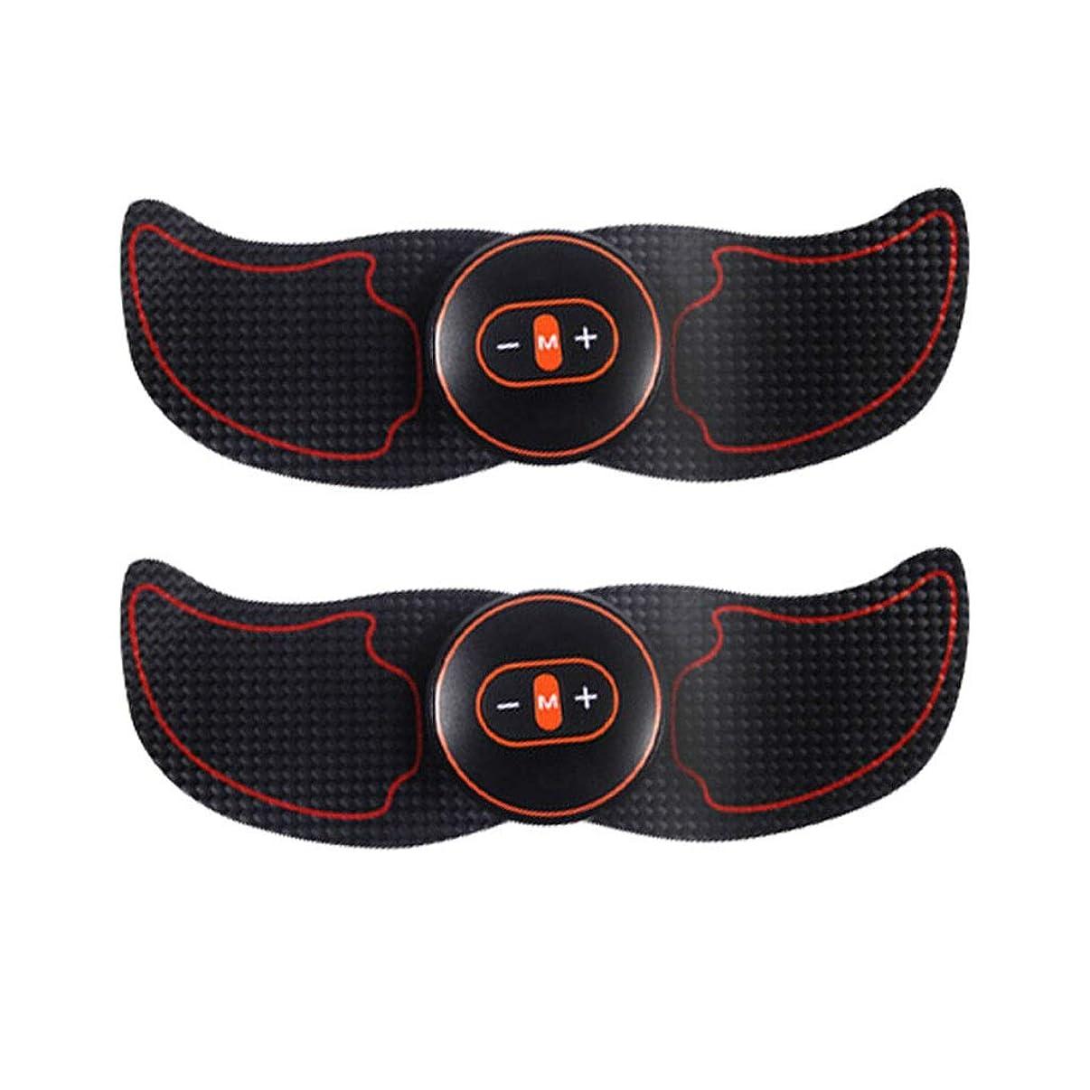 EMSマッスルスティミュレーター、腹部調色ベルトUSB充電、マッスルトナー(男性と女性用)腹部レッグアームスポーツフィットネス用男性と女性 (Size : C)