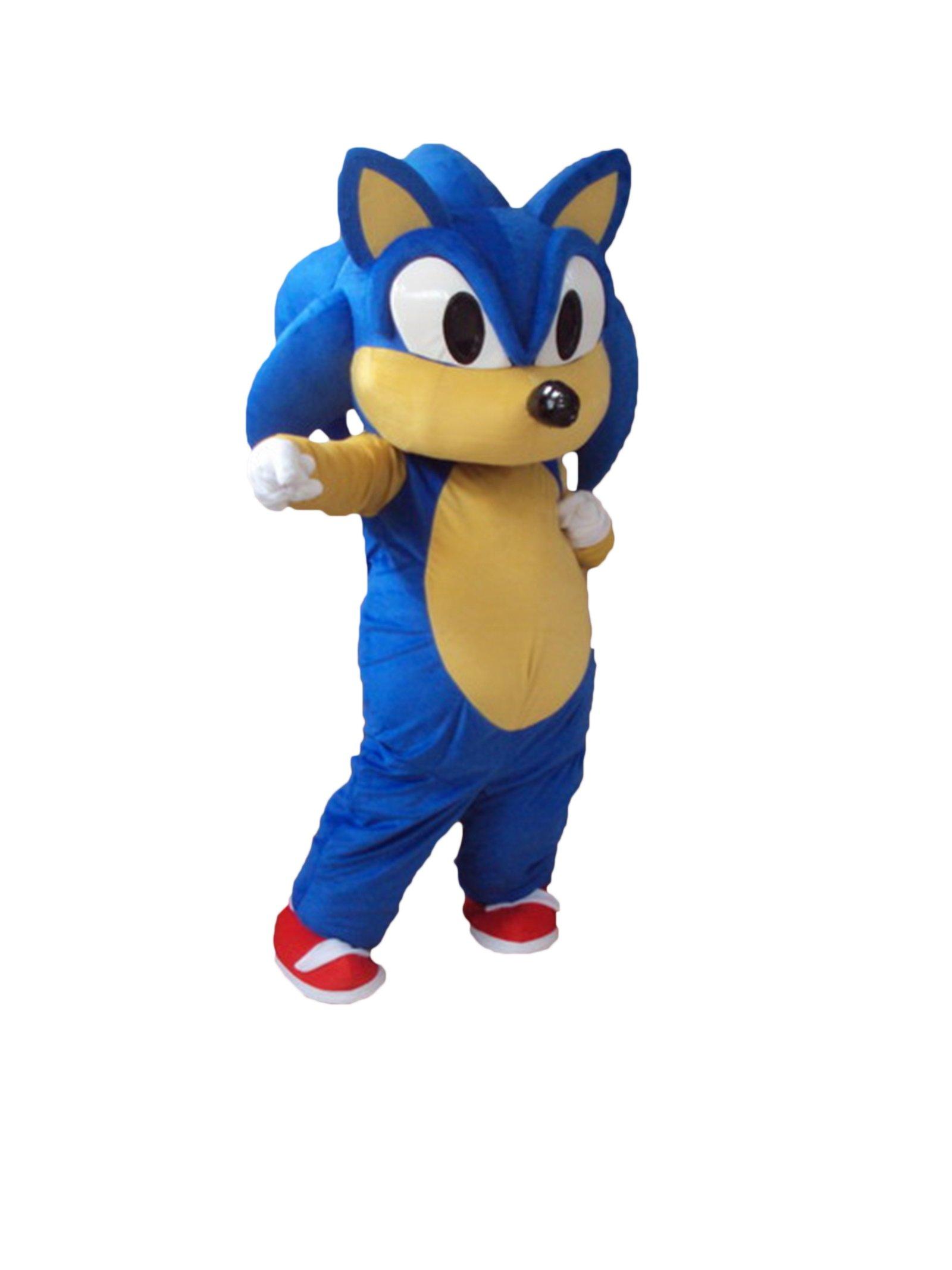 Sinoocean Sonic Hedgehog - Disfraz de Halloween para disfraz de ...