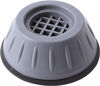 AIchenYW Support de machine à laver anti-vibrations 1/2/4 pcs, Support de machine à laver à suppression des chocs et du br...