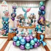 [Upgraded Metallic Balloons KIT] HiParty 60pcs Metallic Party Balloons, 3D Premium Thick Chrome Latex Birthday Balloons with accessories for Wedding Christmas and almost Party Decorations (6 Colors) #3