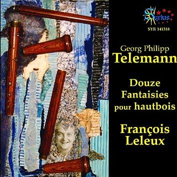 Telemann: Douze Fantaisies pour Hautbois