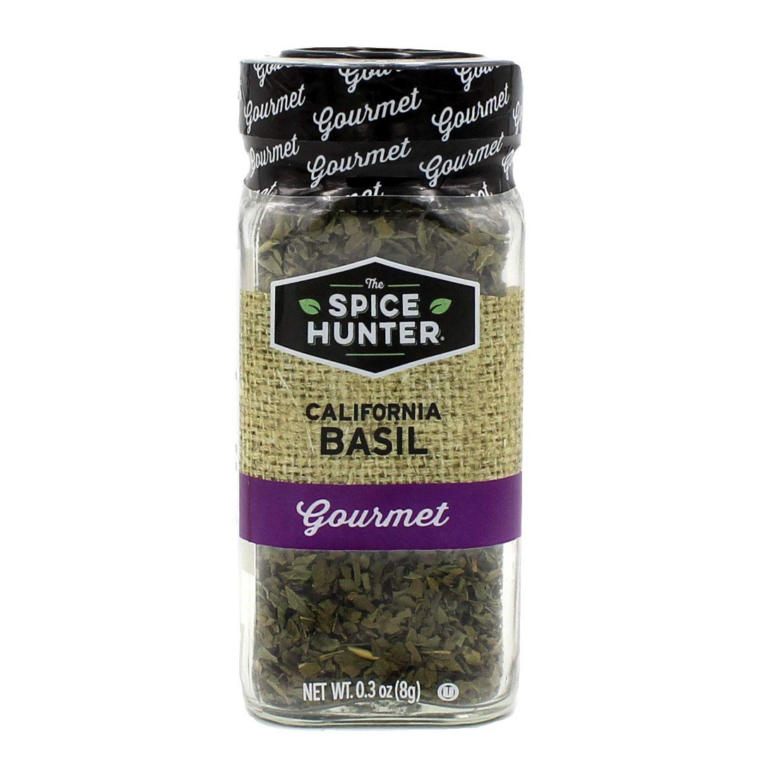 The Spice Hunter Outlet ☆ Free Shipping California Basil Leaves o Jar Pack Ounce 0.3 Manufacturer direct delivery