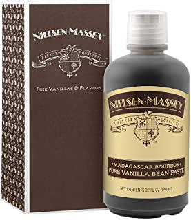 Nielsen-Massey Madagascar Bourbon Vanilla Bean Paste, with gift box, 32 ounces