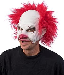 Zagone Studios Carnival Creep Evil Scary Clown Mask White