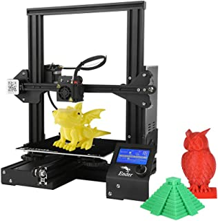Creality 3D Ender-3 3D Printer DIY Easy-Assemble 220 x 220 x 250mm Printing Size with Resume Printing Support PLA, ABS, TPU