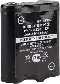 Motorola 1532 1300 mAh NiMH Rechargeable High-Capacity Battery Pack (Black)