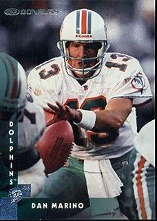 1997 Donruss #94 Zach Thomas Miami Dolphins Football NFL