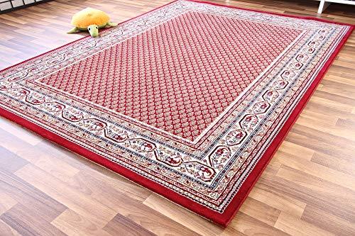 Dubai Sarough Mir Orientteppich rot Webteppich - zeitloser Luxus