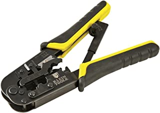 Klein Tools VDV226-011-SEN All-in-One Ratcheting Modular Data Cable Crimper / Wire..