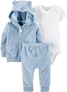 Carter's Unisex Baby 3 Piece Terry Cardigan Set (Baby)