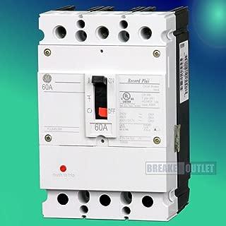 New General Electric GE Record Plus FBN36TE060RV Circuit Breaker 3 Pole 60A 600V