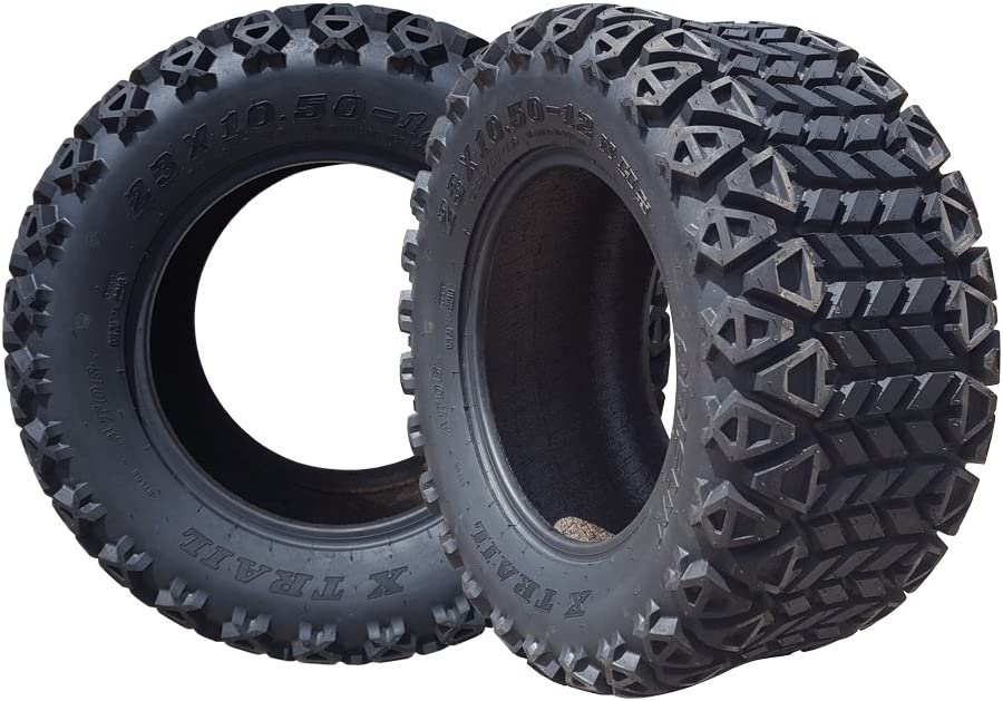Arisun 23 X 10.5-12 Dot All-Terrain For Challenge the lowest price of Japan Carts Tire Max 43% OFF Golf Atv'S