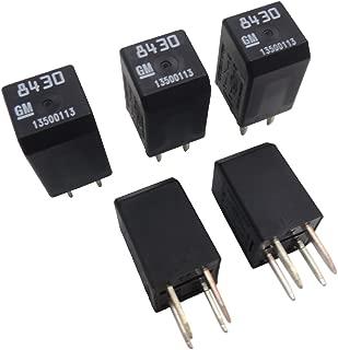 New OEM 13500113 GM Relays (5 Pack) Multi-Function 4-Pin Relay 19116962 D1777C