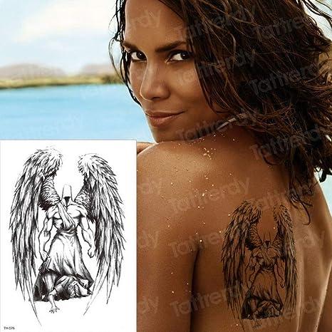Teufel tattoo rücken engel Tattoo Bilder