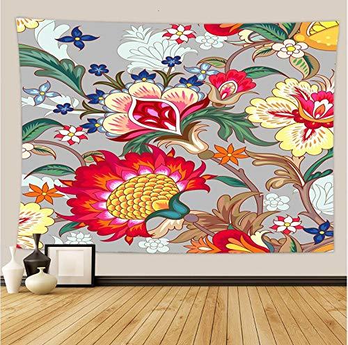 Tapiz de mar de flor de girasol nórdico tapiz de pared de poliéster fondo familiar tela de fondo de playa tapiz de Zabu A7 150x200cm