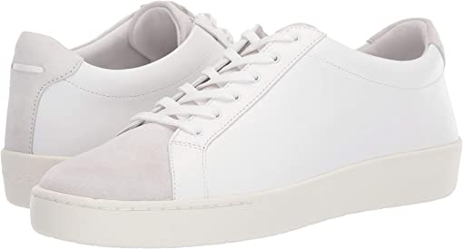 White Leather/Suede
