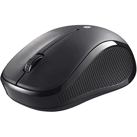BUFFALO Bluetooth3.0 BlueLEDマウス 静音/3ボタン ブラック BSMBB21SBK
