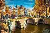 Amsterdam Stadt Skyline City Niederlande XXL Wandbild