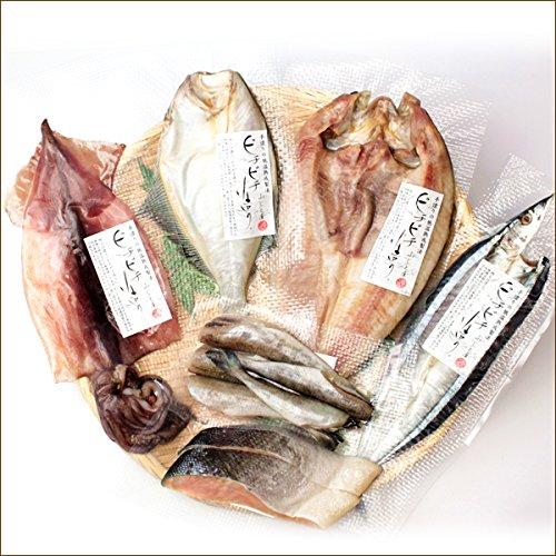 北海道産 干物 6種詰め合せ (ピチピチ造り/化粧箱入り) ギフト 父の日 お中元 敬老の日 お歳暮 詰め合わせ 北海道 お取り寄せ