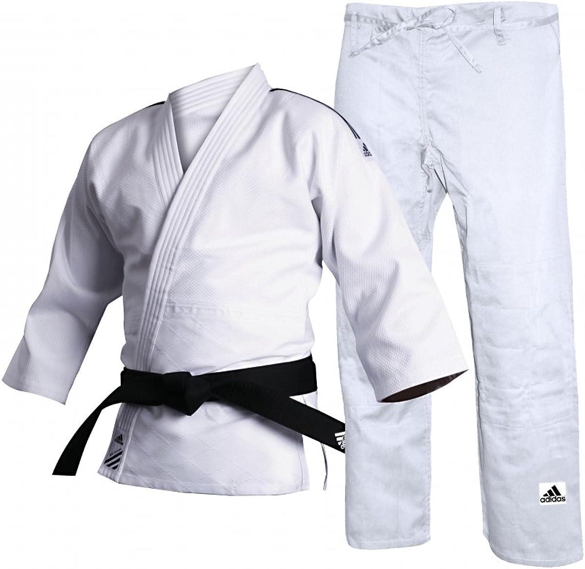 privado Tiempos antiguos objetivo  Adidas J500 Unisex Judo Uniform: Amazon.co.uk: Clothing