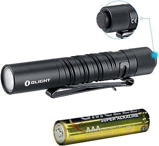 TiooDre Mini Lampe Torche 9 LED Multifonction en Alliage daluminium pour Camping randonn/ée Argent/é Silver
