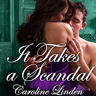 It Takes a Scandal audiobook cover art