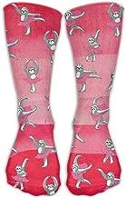 Unisex Sloth Funny Dance Comfortable Stockings Sport Socks Athletic Sock