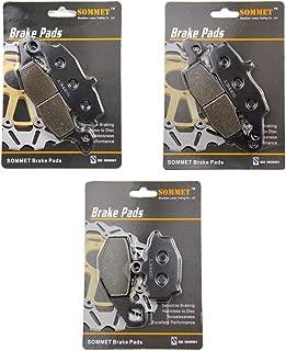 Z750S ZR 750 2005 2006 2007 Pastillas de freno delanteras y traseras para Kawasaki Z750 Z750 ZR750 2004 2005 2006 Cyleto