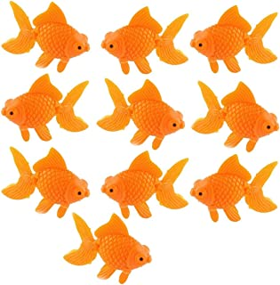 fake goldfish aquarium
